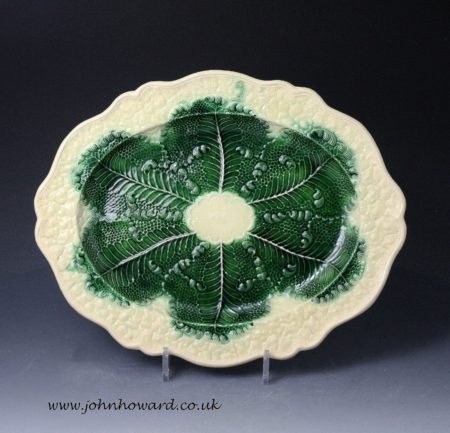 Greatbach, Whieldon, Wedgwood pottery Cauliflower oval dish mid 18th century
